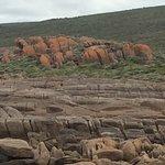 Rocks adjacent