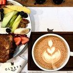 Buen día (french toast con café latte)