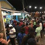 Sunday night street party on 1st street...2 minute walk