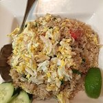 crab and fried rice