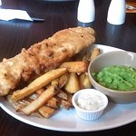 Very nice fish and chips