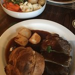 My beef Sunday lunch