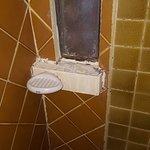 moisissures sur les joints de la douche