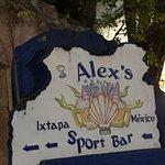 Alex's Sports Bar in Ixtapa