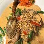 duck panang curry