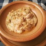 Questo è un bel piatto di Polenta Uncia.