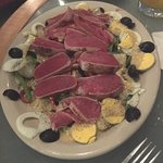 seared ahi tuna salade Nicoise