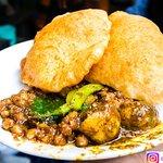 Very tasty Chhole Bhature by Nand Di Hatti, Sadar Bazar, Delhi