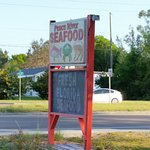 Look for this sign and it's totally worth getting off I-75 for a driving break to eat here.