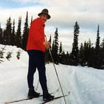 Up and over at Chief Joseph Cross Country ski area