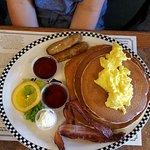 Breakfast volcano