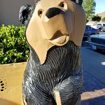 Adorable carved bears are everywhere