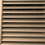 Dirty Vents in the bathroom
