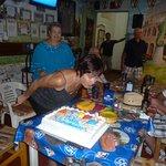Birthdays are always fun to celebrate at Cafe Roma!