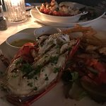 Lobster tail and Lobster Thermodore