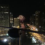 Fireworks from Navy Pier