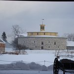 Round Barn in Winter, Hancock Shaker Vilage