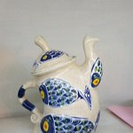 The teapot we bought.