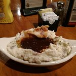 Had to try the homemade mashed potatoes & gravy!