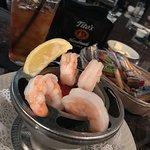 Shrimp cocktail! Lovely shrimp and fantastic sauce!!