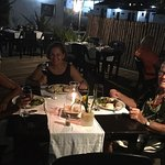 Dinner is served! My wonderful host's in Puerto Don and Rita