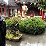 Statue of Lu Yu, Green Tea Restaurant, 83 Longjing Rd, Xihu, Hangzhou, Zhejiang, China