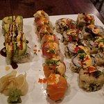 Sushi at Saisaki Asian Bistro & Sushi Bar.