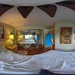 360 image of bedroom