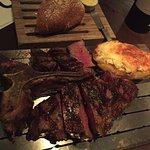 Aged beef T-bone for 2
