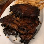 Full Rack Lamb Ribs with Chips $46.00