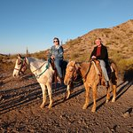 Amazing sunset ride at Corral West Horse Adventures!