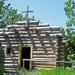A Primitive Church at Calgary's Heritage Park Historical Village