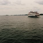 Our ferry through the St. Lawrence River