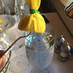 Lemon to go with the Sea Food Tower