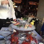 My creation, the Seafood Tower