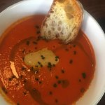 Tomato and Roasted Pepper soup - the winner!