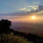 Levé de soleil sur le mont-Ventoux