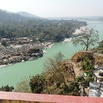 view of ganga river from room