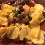 Bacalao Frito con patatas super crujientes (nada aceitoso)
