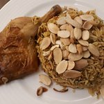 Chicken with Almond rice