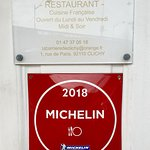 Récompense Guide Michelin