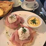 Eggs benedict and the full English