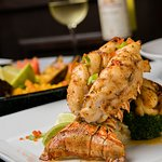 Our Surf & Turf with lobster