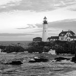 Portland Head Lighthouse in the Morning