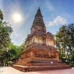 The stupa of Wat Phra kaeo.
