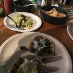 Great tacos and lots of choices. Servers were very intuitive to our needs. The food came out so