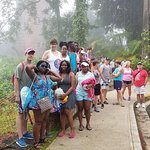 WCHS Students before entering El Yunque