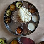 an example of a delicious veg thali meal