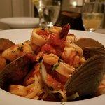 The Zuppa Di Mare Linguini was outstanding!