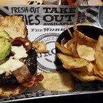 Foto de The Works Gourmet Burger Bistro